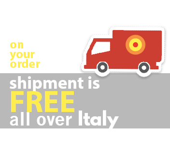 banner free delivery over Italy