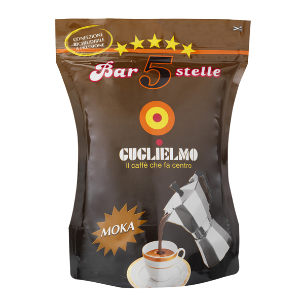 Bar 5 Stelle Moka 250 gr (3Kilos-12Pieces)
