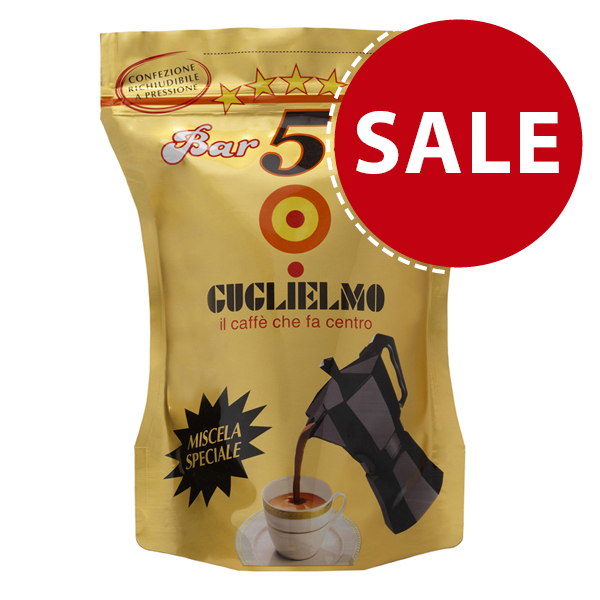 Bar 5 Stelle Oro Special Blend 250 gr (3Kilos-12Pieces)
