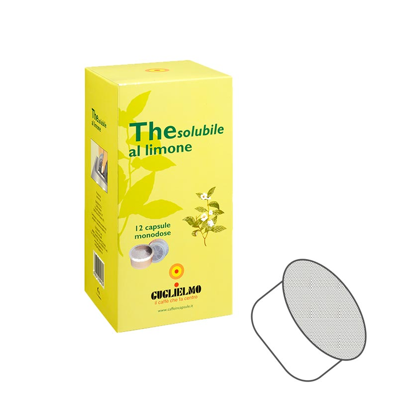 Lemon Tea Capsules 48 Pieces